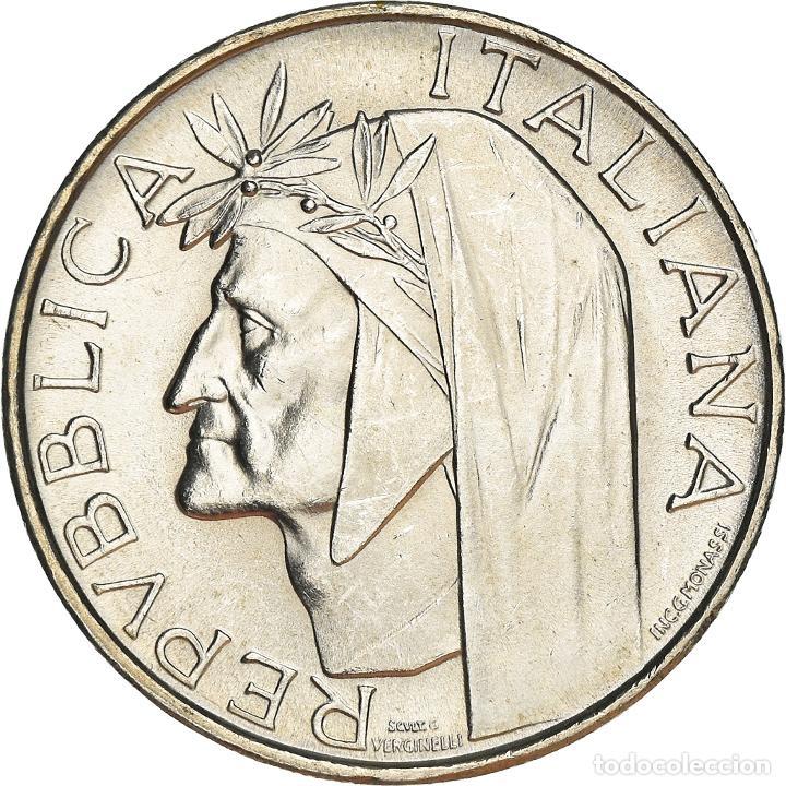 [#950557] MONEDA, ITALIA, 500 LIRE, 1965, ROME, SC, PLATA, KM:100 (Numismática - Extranjeras - Europa)