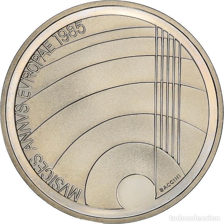 [#950559] MONEDA, SUIZA, ANNÉE EUROPÉENNE DE LA MUSIQUE, 5 FRANCS, 1985, BERN, BE, SC (Numismática - Extranjeras - Europa)