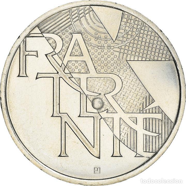 [#898516] FRANCIA, 5 EURO, FRATERNITÉ, 2013, EBC+, PLATA, GADOURY:EU647 (Numismática - Extranjeras - Europa)