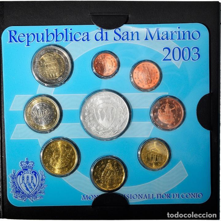 [#898481] SAN MARINO, SET, 2003, BU, FDC, SIN INFORMACIÓN (Numismática - Extranjeras - Europa)