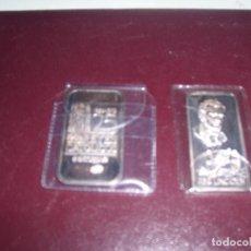 Monedas antiguas de Europa: 2 LINGOTES PLATA. Lote 293608793