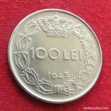 Monete antiche di Europa: RUMANIA ROMANIA 100 LEI 1943 #1. Lote 293766438