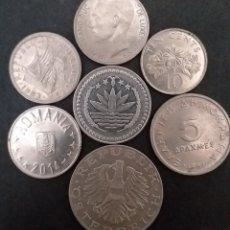 Monedas antiguas de Europa: LOTE 7 MONEDAS DISTINTAS DE DISTINTOS VALORES DISTINTOS PAÍSES DISTINTAS FECHAS. Lote 294006408