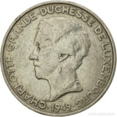 Monedas antiguas de Europa: [#533378] MONEDA, LUXEMBURGO, CHARLOTTE, 5 FRANCS, 1949, MBC, COBRE - NÍQUEL, KM:50. Lote 294118643
