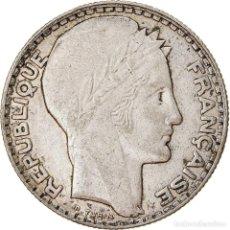 Monedas antiguas de Europa: [#779427] MONEDA, FRANCIA, TURIN, 10 FRANCS, 1931, PARIS, BC+, PLATA, KM:878, GADOURY:801. Lote 294118713