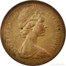 Monedas antiguas de Europa: [#586631] MONEDA, GRAN BRETAÑA, ELIZABETH II, 2 NEW PENCE, 1971, BC+, BRONCE, KM:916. Lote 294118903