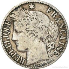 Monedas antiguas de Europa: [#381577] MONEDA, FRANCIA, CÉRÈS, FRANC, 1887, PARIS, BC+, PLATA, KM:822.1, GADOURY:465A. Lote 294119748