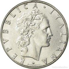 Monedas antiguas de Europa: [#726088] MONEDA, ITALIA, 50 LIRE, 1988, ROME, MBC, ACERO INOXIDABLE, KM:95.1. Lote 294120663