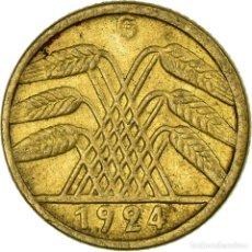 Monedas antiguas de Europa: [#708841] MONEDA, ALEMANIA - REPÚBLICA DE WEIMAR, 5 RENTENPFENNIG, 1924, KARLSRUHE, MBC. Lote 294121138