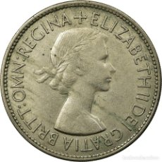 Monedas antiguas de Europa: [#692336] MONEDA, GRAN BRETAÑA, ELIZABETH II, 1/2 CROWN, 1953, MBC, COBRE - NÍQUEL. Lote 294121613