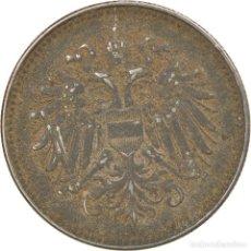 Monedas antiguas de Europa: [#814778] MONEDA, HUNGRÍA, 20 FILLÉR, 1917, BC+, HIERRO, KM:498. Lote 294122013