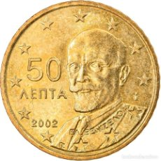 Monedas antiguas de Europa: [#831058] GRECIA, 50 EURO CENT, 2002, ATHENS, MBC+, LATÓN, KM:186. Lote 294122488