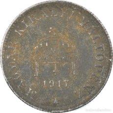 Monedas antiguas de Europa: [#812682] MONEDA, HUNGRÍA, 20 FILLÉR, 1917, BUDAPEST, BC+, HIERRO, KM:498. Lote 294123193