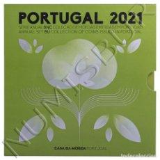 Monedas antiguas de Europa: SET OFICIAL EUROS PORTUGAL 2021 CALIDAD BU - SERIE ANUAL BNC 2021. Lote 294157183