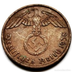Monedas antiguas de Europa: ⚜️ A2213. 2 REICHSPFENNIG 1938 A. ALEMANIA NAZI III REICH. Lote 294379798