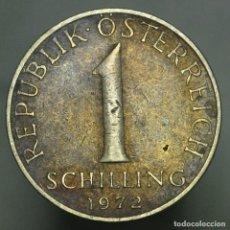 Monedas antiguas de Europa: 1 SCHILLING AUSTRIA 1972. Lote 294551918