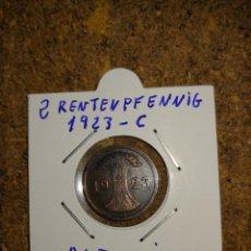 Monedas antiguas de Europa: MONEDA DE ALEMANIA DE 2 RENTENPFENNIG DEL AÑO 1923 - C. Lote 294552243