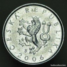Monedas antiguas de Europa: 1 CORONA REPUBLICA CHECA 2006. Lote 294990353