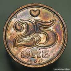 Monedas antiguas de Europa: 25 ORE DINAMARCA 1991. Lote 295000768