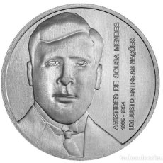 Monedas antiguas de Europa: PORTUGAL 5 EURO 2021 S/C ARISTIDES DE SOUSA MENDES — NUNCA ESQUECER. Lote 295288898