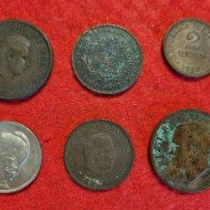 Monedas antiguas de Europa: LOTE DE 6 MONEDAS ANTIGUAS DE PORTUGAL ORIGINALES C10. Lote 295308188