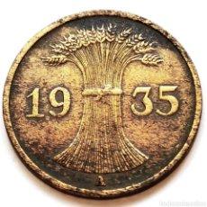 Monete antiche di Europa: ⚜️ 1 REICHSPFENNIG 1935 A. ALEMANIA. AF686. Lote 295305853