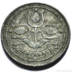 Monete antiche di Europa: ⚜️ OCUPACIÓN NAZI. 10 CENTS 1943. HOLANDA. AF761. Lote 295291743
