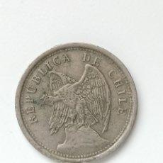 Monedas antiguas de Europa: REPÚBLICA DE CHILE, 20 CENTAVOS DE 1922,. Lote 295518063