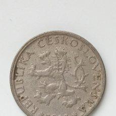 Monedas antiguas de Europa: CHECOSLOVAQUIA, 1 CORONA DE 1922, KM# 4. Lote 295520693