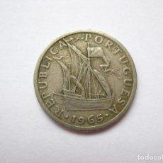 Monedas antiguas de Europa: MONEDA PORTUGAL 2,5 ESCUDOS 1965. Lote 295638788