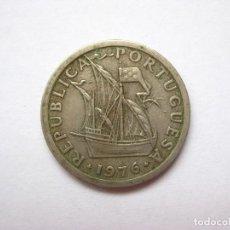 Monedas antiguas de Europa: MONEDA PORTUGAL 2,5 ESCUDOS 1976. Lote 295639283