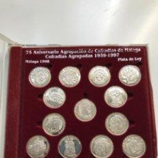 Monedas antiguas de Europa: PLATA DE LEY AGRUPACIÓN DE COFRADÍAS MEDALLAS COLECCIONABLES. Lote 295648528