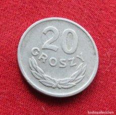 Monedas antiguas de Europa: POLONIA 20 GROSZY 1963 #2. Lote 295740673