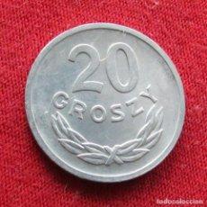 Monedas antiguas de Europa: POLONIA 20 GROSZY 1971. Lote 295740803