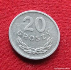 Monedas antiguas de Europa: POLONIA 20 GROSZY 1972 #2. Lote 295740878