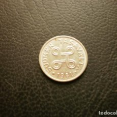 Monedas antiguas de Europa: FINLANDIA 1 MARCO 1961. Lote 295740978