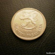Monedas antiguas de Europa: FINLANDIA 1 MARCO 1970. Lote 295741028