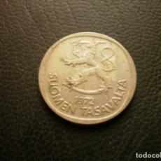 Monedas antiguas de Europa: FINLANDIA 1 MARCO 1972. Lote 295741138