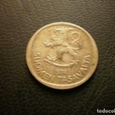 Monedas antiguas de Europa: FINLANDIA 1 MARCO 1974. Lote 295741213