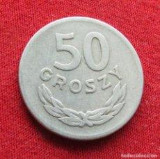 Monedas antiguas de Europa: POLONIA 50 GROSZY 1949 #2. Lote 295741273