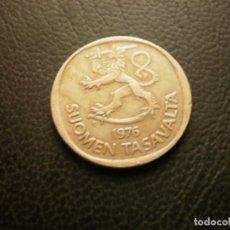Monedas antiguas de Europa: FINLANDIA 1 MARCO 1976. Lote 295741343