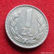 Monedas antiguas de Europa: POLONIA 1 ZLOTY 1977. Lote 295742313