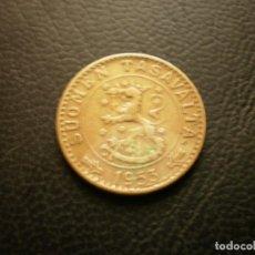 Monedas antiguas de Europa: FINLANDIA 20 MARCOS 1953. Lote 295742318