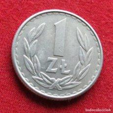 Monedas antiguas de Europa: POLONIA 1 ZLOTY 1986 #2. Lote 295742478