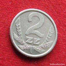 Monedas antiguas de Europa: POLONIA 2 ZLOTE 1989 #2. Lote 295742868