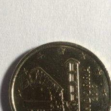 Monedas antiguas de Europa: ANDORRA MONEDA DE 0,50 € AÑO 2017. Lote 295880053