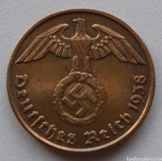 Monedas antiguas de Europa: 2 REICHSPFENNIG 1938. Lote 295978358