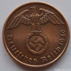 Monedas antiguas de Europa: 2 REICHSPFENNIG 1940. Lote 295978643
