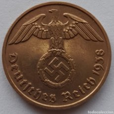 Monedas antiguas de Europa: 2 REICHSPFENNIG 1938. Lote 295979383