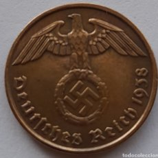 Monedas antiguas de Europa: 2 REICHSPFENNIG 1938. Lote 295981113